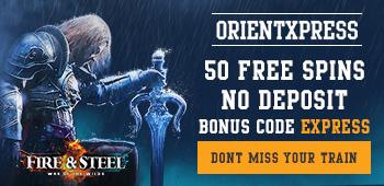 Hämta 50 freespins på OrientXpress med bonuskod