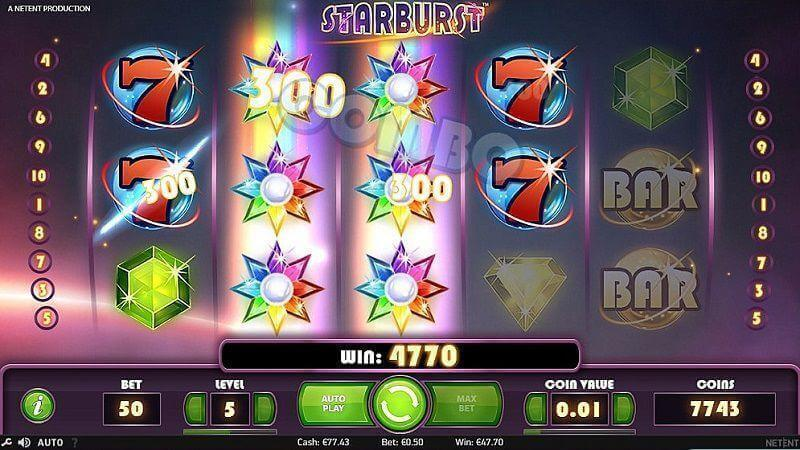 50 free spins på Starburst hos Cherry Casino!